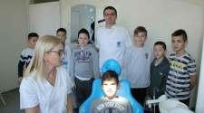 Doprinos razvoju sporta: Polaznici škole fudbala na preventivnim pregledima